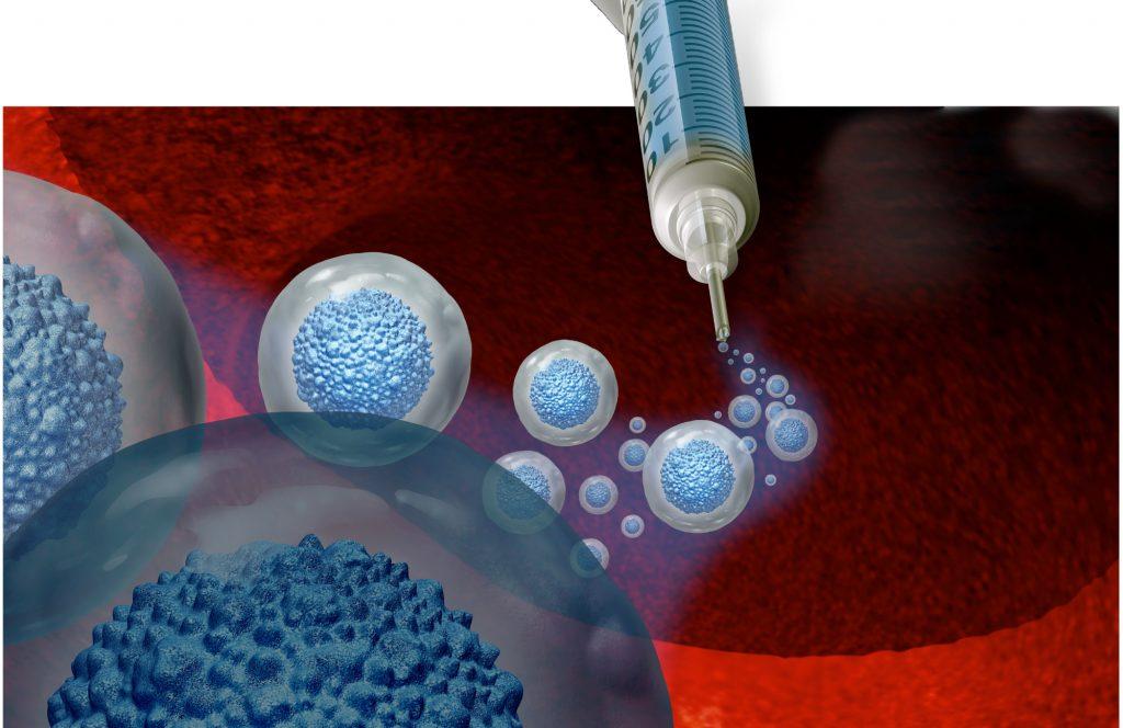 Stammzellenbehandlung, Symbol-Illustration